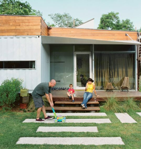 shipping containers, shipping container home, houston, affordable housing, recycled materials