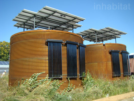 Cornell Silo House, Cornell Silo House, solar decathlon, green building, sustainable building, green houses