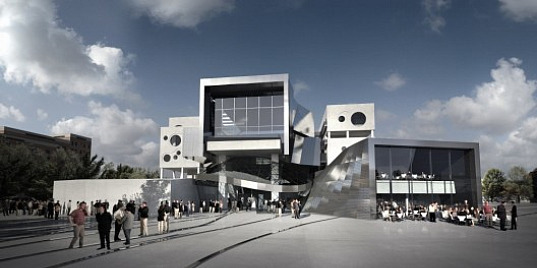 denmark, house of music, Coop Himmelb(l)au, natural ventilaiton, thin-film pv, solar power, solar passive design, mixed use building