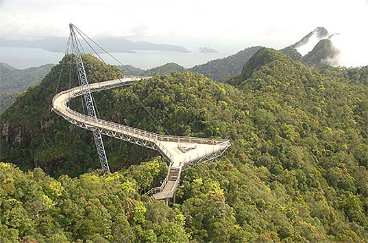 sustainable design, green design, innovative green bridges, green building, infrastructure, sustainable architecture, top 5 green bridges, Langkawi Sky Bridge