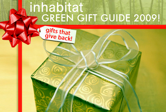 Green Gift Guide 2009, sustainable design, green design, inhabitat gift guide 2009, christmas presents, holiday gifts, green gift ideas