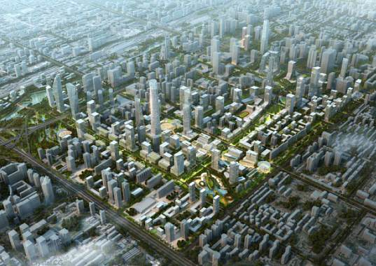 Beijing, Beijing CBD, SOM, urban design, redevelopment plan, central business district, master plan, urban planning, sustainable city, sustainable growth, sustainable development