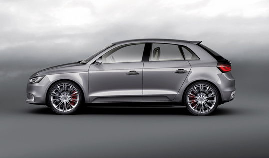 Measuring in a tad shorter than the A3, Audi's new A1 Sportback Hybrid's