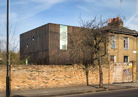 """David Adjaye"", prefabricated building, ""De Beauvoir Town"", Hackney Timber"