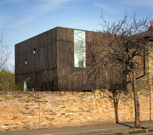 """David Adjaye"" prefabricated building ""De Beauvoir Town"" Hackney Timber"
