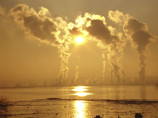 air pollution, smog, haze, climate change, co2 emissions, plants, photosynthesis, study, reasearch, global dimming