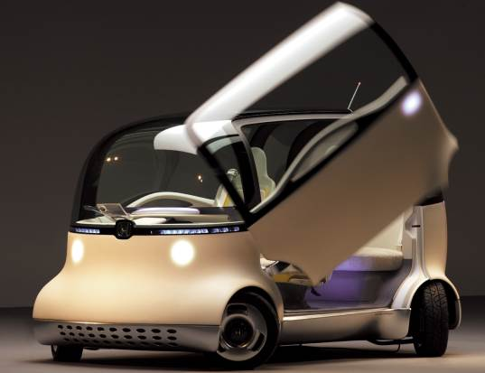 honda, puyo, fuel cell, hydrogen, transport, tokyo, green, concept, vehicle
