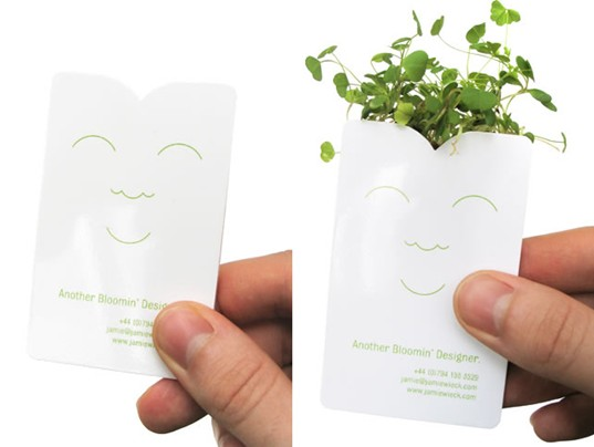 Jamie Wieck, Growing Business Card, Another Bloomin Designer