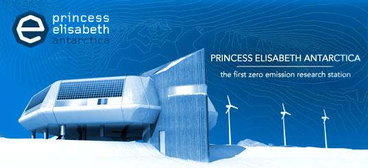 zero emission research station in antartica