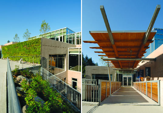 sustainable design, green design, aquaquest, vancouver, marilyn blusson learning center, water, aquarium, green building, green roof