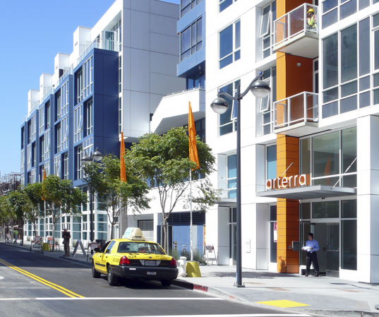 Arterra, San Francisco, LEED development, LEED condominium, sustainable building