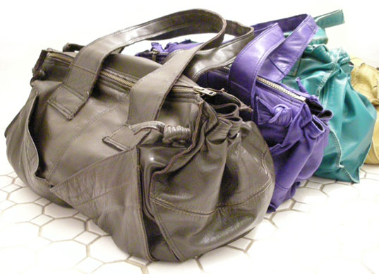 ashley watson, recycled leather, recycled leather bags, green leather bags, sustainable leather, eco-friendly leather