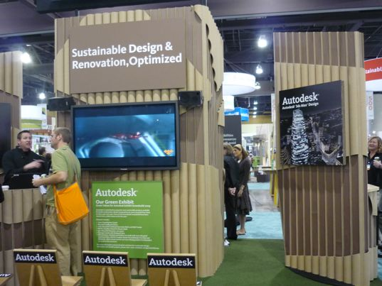 greenbuild 2009, sustainable design, building materials, green building conference, autodesk