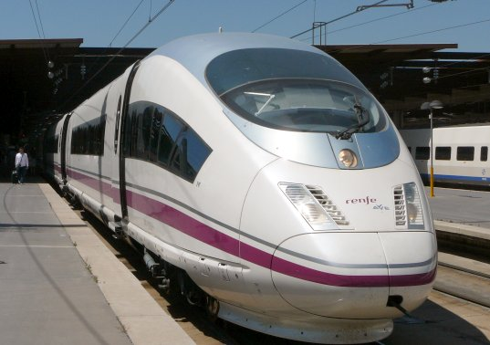 Can Spain's AVE Train Kill the Airplane?, ave s103, ave, AVE Train, Airplane killer, Bullet train, high-speed rail, bullet train, high speed train, high speed rail, madrid to barcelona, Spanish rail, high speed Spanish rail, AVE train