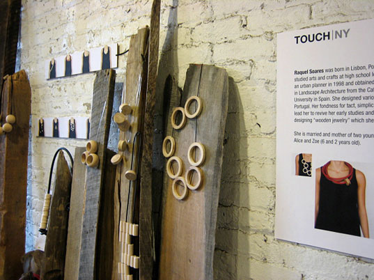 TOUCH New York Touch Collection Zoe Melo Touch Mana Collection Mana Bernardes Raquel Soares Baboa Tatiana Sperhacke Tatiana Sperhacke TAT sustainable style recycled products TOUCH New York Design Week green design exhibition New York eco-friendly design