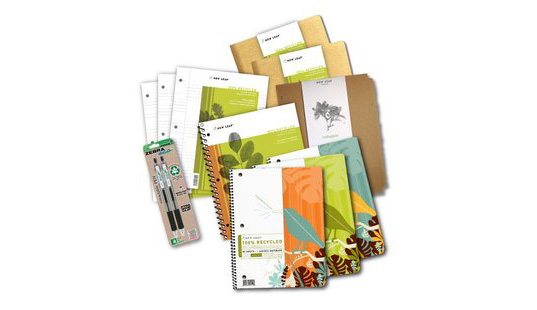 new leaf notebooks, noonsolar bag, top 5 eco friendly back to school supplies, green school supplies, green school products, green notebooks, new leaf notebooks, dell studio hybrid, recycled pencils, terracycle folders