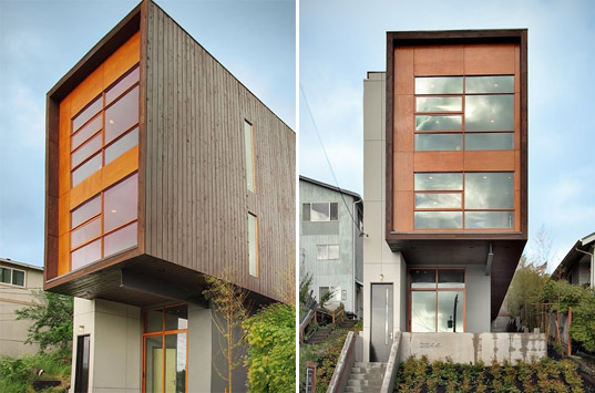 Mount Baker Residence, Seattle, PB Elemental Architecture, low-voc paint, radiant concrete floors, cfl lighting, sustainable building, sustainable architecture, green architecture