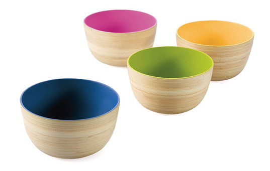 bambu outside-in-bowls, sustainable design, eco bowls, organic bamboo bowls, green design, sustainable materials, socially responsible design, inhabitat shop