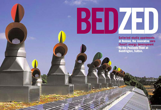 bedzed11.jpg, BedZED, zero energy homes, zero energy design, zero energy home, sustainable development, sustainable multi-home complex, green housing, green homes, carbon neutral, carbon neutral community
