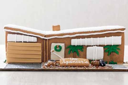 holiday gingerbread house, gingerbread house poll, modern gingerbread house, holiday cooking, green gingerbread house, sustainable gingerbread house, eco-friendly building, green holiday fun