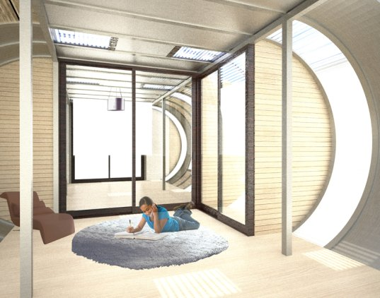 home arc, modular home, prefab home, prefab, solar-powered home, photovoltaic homes, joseph bellamo, efficient construction, sustainable building, green building