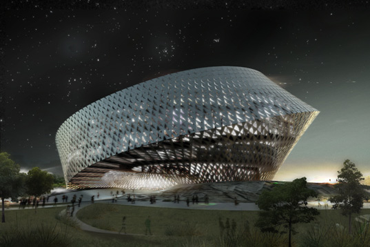 Kazakhstan Library by BIG