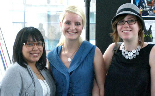 jessica velasquez, jane carolton, stephanie murphy, fashion institute of technology nyc