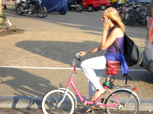 Bike power, bike power for cell phones, cell phone power, human powered phone