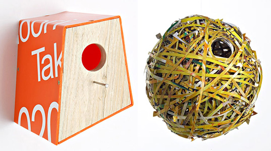 designer bird houses, upcycling waste materials, Adventure Ecology bird houses, Adventure Ecology bee houses, Adventure Ecology bat houses, Philips de Pury auction house, Philips de Pury auction, bee decline, habitat decline, bee habitat decline, bird habitat decline, design for wildlife, wildlife habitat, wildlife urban ecology, birdhouses.jpg