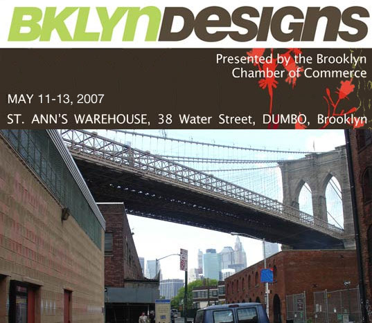 BKLYN DESIGNS 2007, Brooklyn Designs 2007