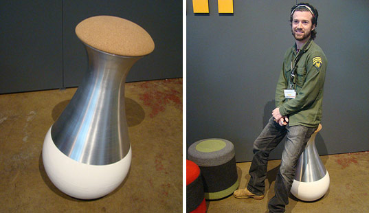 evan dewhirst, pratt, buoy chair, sustainable design, brooklyn designs 2009