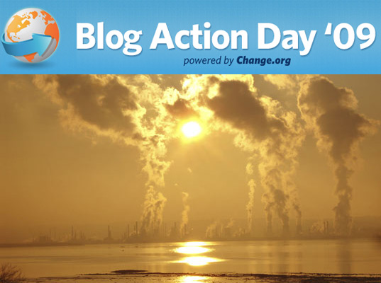 Blog Action Day 2009, sustainable design, green design, environment, global warming, activism, environmental movement