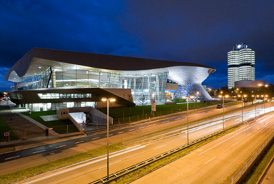 sustainable design, green design, bmw welt, factory, eco-friendly, natural ventilation, Coop Himmelb[l]au BMW-Welt