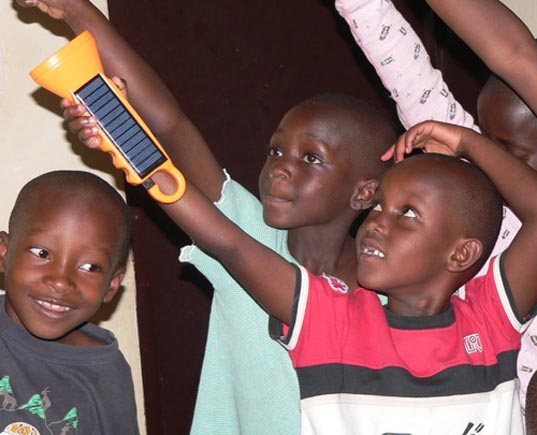 Bogolight, solar power for africa, sustainable development, sustainable design, socially responsible sustainable design, solar powered flashlight, save the children