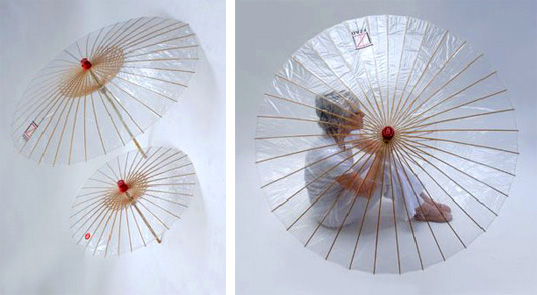 The Brelli, biodegradable, umbrella, sustainable style, bamboo, eco-fashion, green, style, accessories, Spring 2008