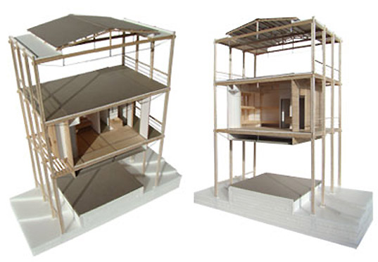 magic bus dormitory, architecture brio, bamboo building, sustainable building bamboo, indian architecture sustainble, indian architecture green