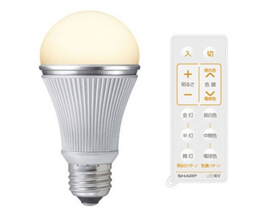 bulb, DL-L60AV LED, light bulb, led, energy efficiency, sharp