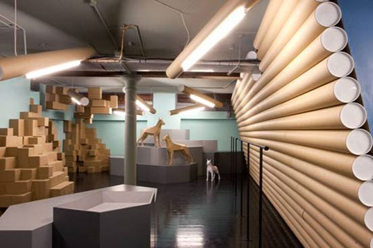 100 Recycled Cardboard Interior Is Totally Tubular