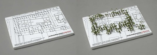 Landscaped Business Card, Tur & Partner, Jung von Matt