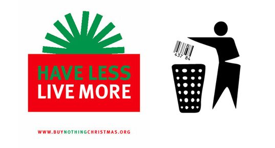 buy nothing christmas, alternative gift giving, holiday gift guide, adbusters buy nothing day,  anti-consumerism christmas, buy nothing holiday season