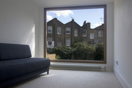 crawford partnership, green roof extension, renovation green roof, modern renovation, spacious renovation, expansive renovation
