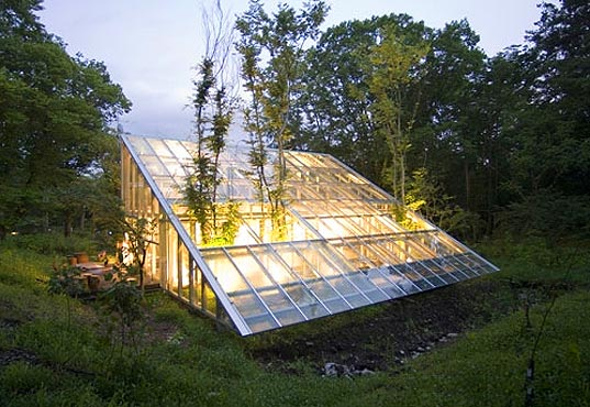 Camouflage House, Hiroshi Iguchi, japanese architecture, sustainable architecture, sustainable building, eco-friendly architecture, japanese garden, japanese interior design, greenhouse, minimalist garden, minimalist homes, green residence, green home, japanese homes, architecture transparency