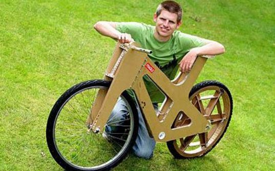 cardboard bicycle, cardboard bike, bike made from cardboard, eco-friendly bicycle, cardboard bike Phil Bridge, student design bicycle, Sheffeld England student design, cardboard bike, transportation tuesday, cardboard2.jpg