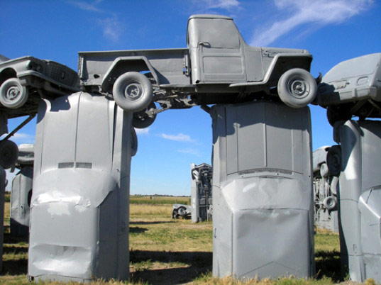 carhenge, scrap cars, jim reinders, recycled art, eco art, recycled sculpture, scrap cars sculpture, scrap metal