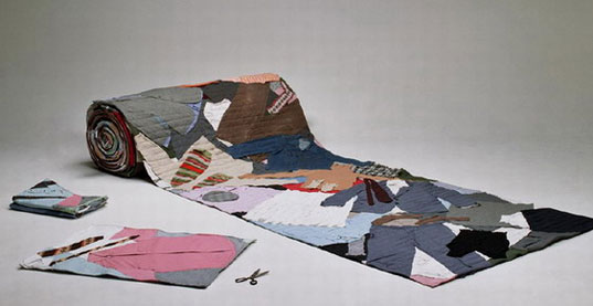 volksware, silke wawro, clothing carpet, recycled carpet, recycled design