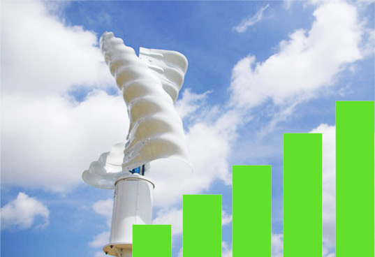 helix wind turbine cell tower, helix wind, wind power, wind energy, alternative energy