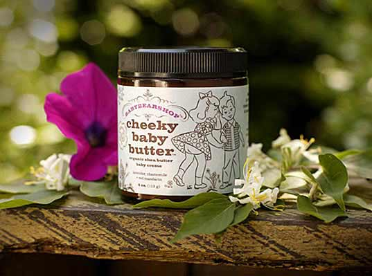 Baby Bear Products certified organic Cheeky Baby Butter all natural skin care mama baby