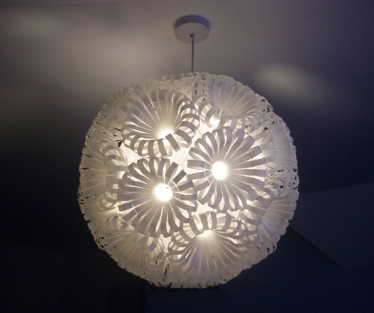 recycled bottle lamp, sarah turner, redesign, ReDesign Lighting/></a> <sup>[1]</sup></p> <p><a href=
