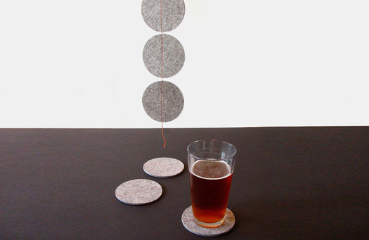 Inhabitat green gift guide, eco-friendly gifts, green gifts, holiday gift guide, cheap gifts, gift ideas, green gifts, stocking stuffers, sustainable gifts, recycled felt coasters