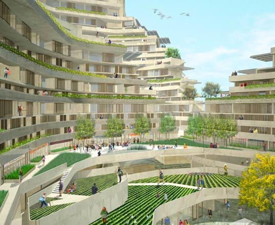 sustainable design, green design, urban re:vision, dallas tx, co op canyon, standard los angeles, anasazi cliff dwelling, green architecture, sustainable building